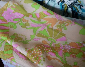 Vintage 1960's Fabric