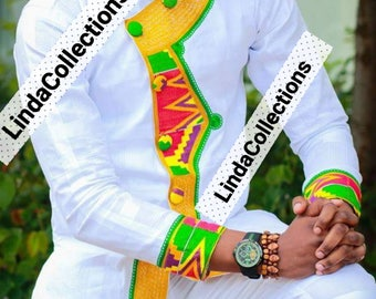 African Clothing, Men Shirt, Men Clothing, African Shirt, Embroidery, mens wear