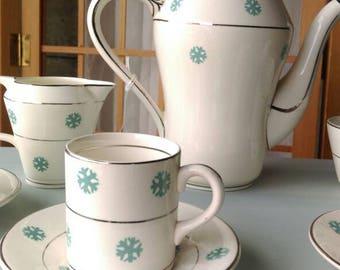 China coffee set. Crownford made