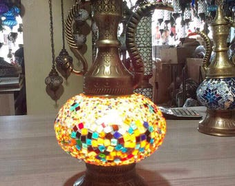 Turkish Desk Lamp,desk light,table light,table lamp,Moroccan Style Lamp,Night Lamp, standing light,office desk lamp,moroccan lamp