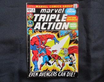 Marvel Triple Action #8 Marvel Comics 1972