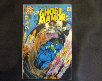 Ghost Manor #17 Charlton Comics 1974