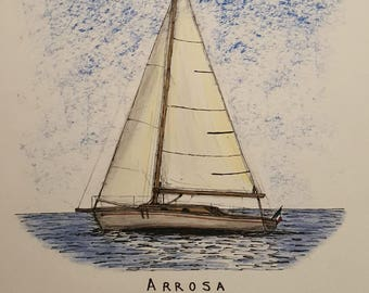 Nautical Painting Arrosa