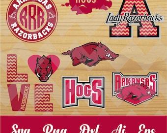 Razorbacks svg,Arkansas university,team,logo,svg,PNG,eps,dxf,cricut,silhouette,collegiate,ncaa,jersey,proud,mom,love,shirt,tigers,longhorns