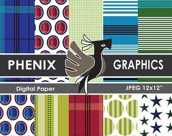 ON SALE 80% OFF Sale Eggs & Lines digital patterns, digital papers pack, scrapbook papers pack, printable papers pack,