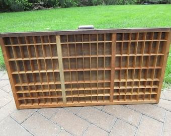 Hamilton Letterpress Triple Cap Case / Shadow Box