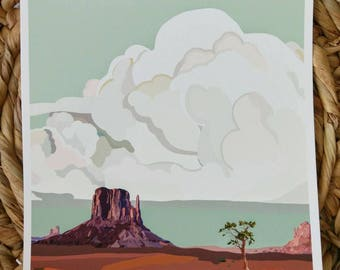 Monument Valley 8x10