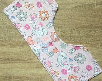 Burp Cloth for Baby Girl