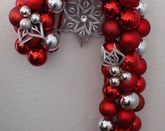Red/Silver Candy cane