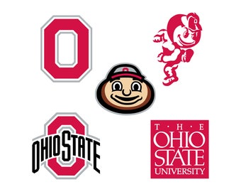 Ohio State Buckeyes svg Ohio State University  Cutting Files Instant Download clipart digital – svg eps png dxf T-shirt design