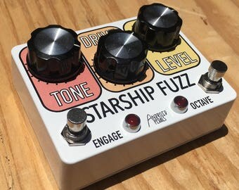 STARSHIP FUZZ - Octave Fuzz Guitar Pedal