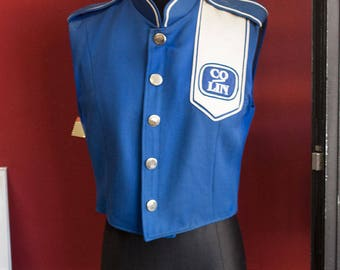 Original Vintage Sleeveless Band Jacket