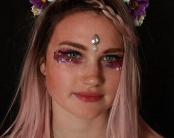 Daisy Chain Flower Crown Headband Headpiece Festival