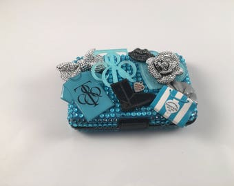 Bling Credit Card/ID Hard Case Tiffany & Co. Inspired