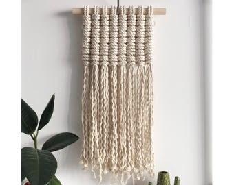 Macrame Wall Hanging | Modern Macrame | Macrame | Wall Hanging