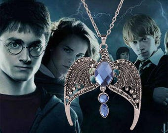 HARRY POTTER Ravenclaw Horcrux Lost Diadem Tiara Crown Necklace Pendant Jewellery Gift