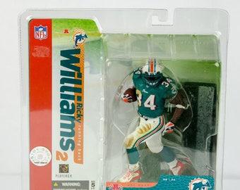 McFarlane's Sportspicks Series 10 Ricky Williams Action Figure Miami Dolphins