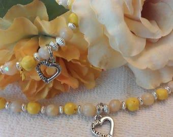 Flower Petal Jewelry Memorial Keepsake Bracelet Necklace Wedding Funeral Baby