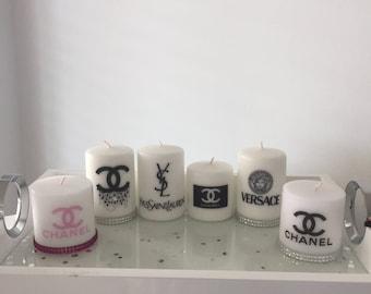 Designer Inspired Custom Candles