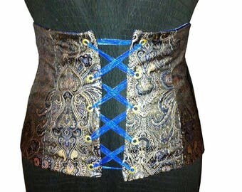 Underbust Corset with lacing in front
