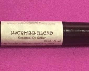 "Essential Oil Roller ""Psoriasis Blend"" Aromatherapy Inhaler"