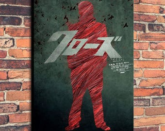 Movie Posters for crows zero Art Print on Canvas Home Wall Decor