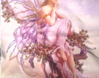 Beaded Painting, Picture Fairy