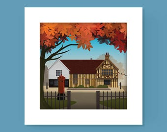 Walthamstow Village, Ancient House Print