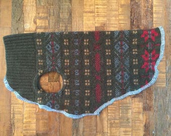 Wool Dog Sweater - Warm & Wooly Dog Jacket