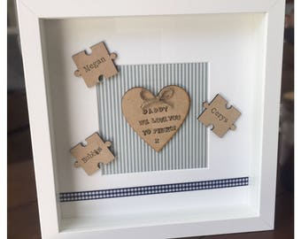 Handmade Dad/Fathers Day Frame