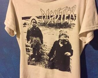 Disaster War Cry Shirt Punk UK