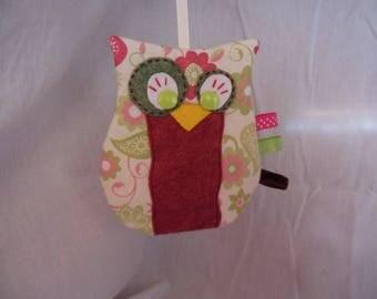 """OWL Mirette"" blanket blanket flat to label"