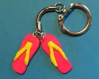 Handmade Flip-flop/ flip flop Sandals keyring