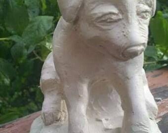Clay Sculpture Pet Portraits