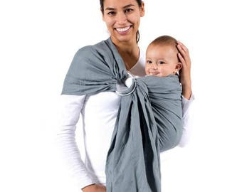 Wee Pouch Baby Sling, Ring Sling, Baby Carrier, Adjustable Baby Water Infant Wrap with Aluminum Ring, Hip Sling for Summer - Fast Shipping