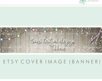 Etsy Banner, Etsy Shop Banner, Party Cover Image, Etsy Cover Photo, Cover Image, Premade Cover Photo, Custom Etsy Banner, Party Etsy Banner