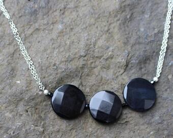 Big & Bold Black Necklace