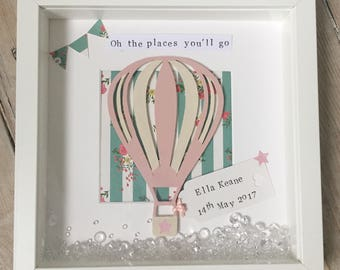New Baby Gift/Nursery Decor/Personalised Gift/Personalised Frame/Birthday Gift