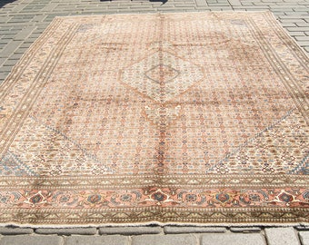 Persian Hand Knotted Tabriz Carpet Rug 360x280