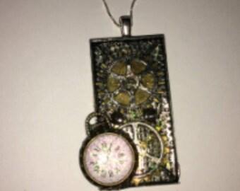 Handmade Steampunk Pendant