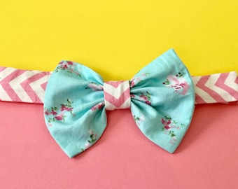 SPRING FLING Floral Headband for babies and girls
