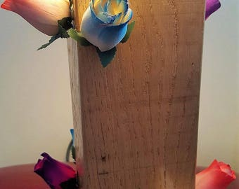 Rose Log Lamp