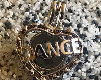 Dance cage pendant