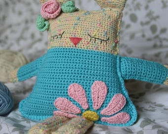 Ragdoll Spring Bunny crochet