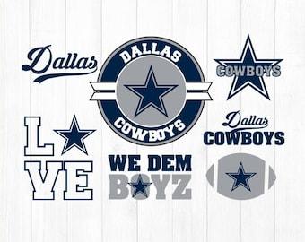 INSTANT DOWNLOAD - Dallas Cowboy Svg, Dallas Cowboys Digital Download Files, Dallas Cowboy Cutting Files, Cowboys Clipart, Cowboys Baseball