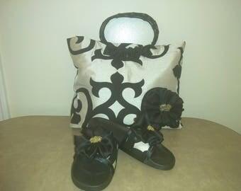 Glamour Girl Tote & Matching Slides