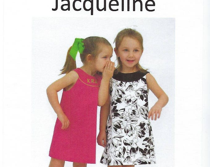 Featured listing image: Children's Corner Sewing Pattern #275 / JACQUELINE / Sizes 3 - 6 and 7 - 12