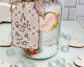 Unique and delightful Gift  Jars made  for any special occasion to suit him, her, friends and relatives