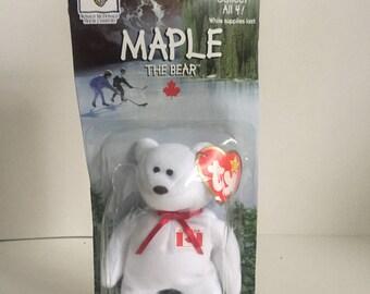 "1997 McDonald's Beanie Baby ""Maple"""
