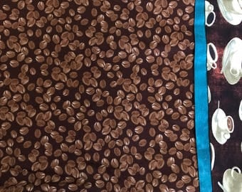 Coffee Cups Pillowcase FREE SHIPPING